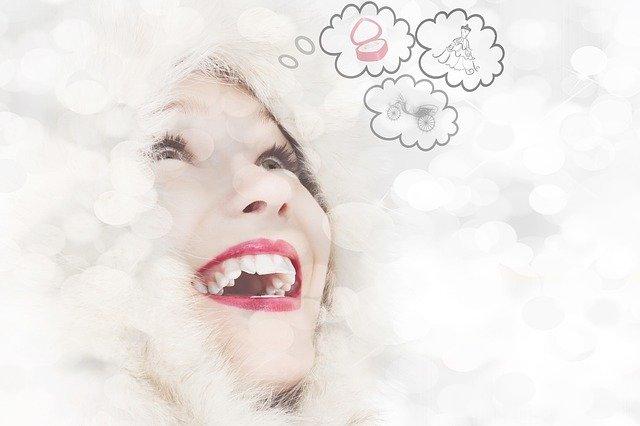 Frau erkennt Stressfaktoren